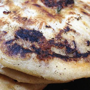 Pupusas at Cafe Durango