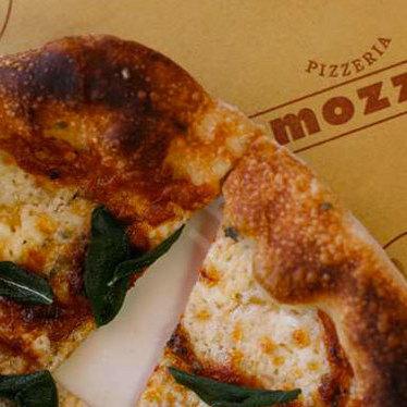 Margherita pizza at Pizzeria Mozza