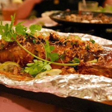 Cá nướng at Saigon Pagolac