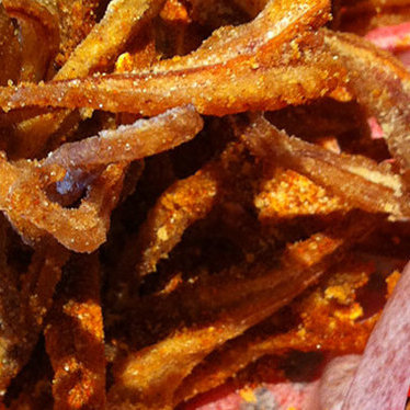 Sweet & spicy pig ears at The Hay Merchant