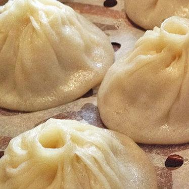 Soup dumplings at Fu Fu Cafe