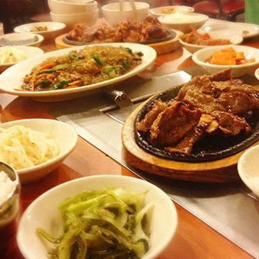 Pork bulgogi at MeeGa Korean BBQ