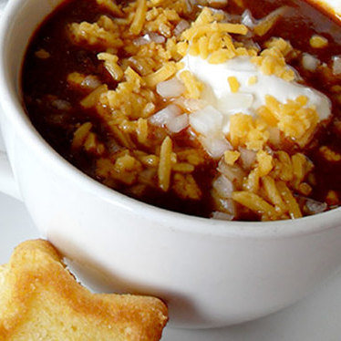 Texas chili con carne at District Commons