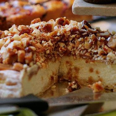 Caramel & macadamia cheesecake  at Hilton London Islington Hotel