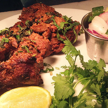 Lamb boti kabab at Dishoom