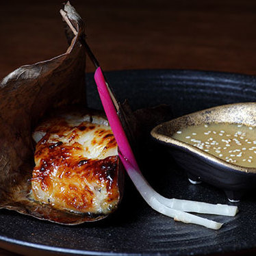 Yuzo scented miso black cod at Novikov Restaurant & Bar