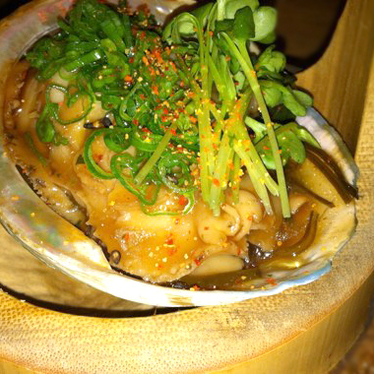 Braised abalone at Zuma Restaurant