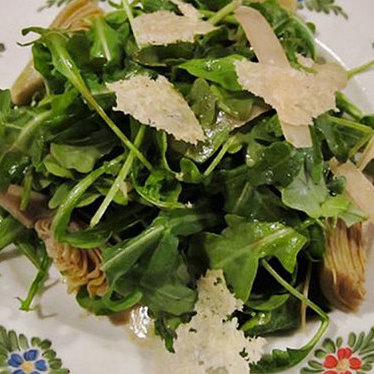 Rucola salad at Osteria Morini