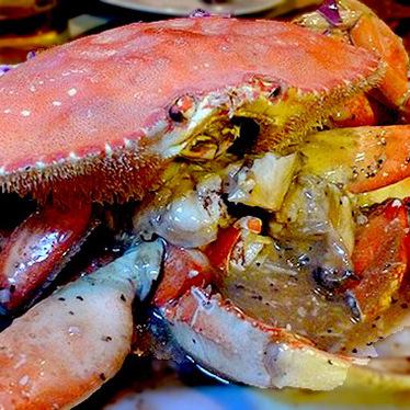 Dungeness crab at Jitlada Thai Restaurant