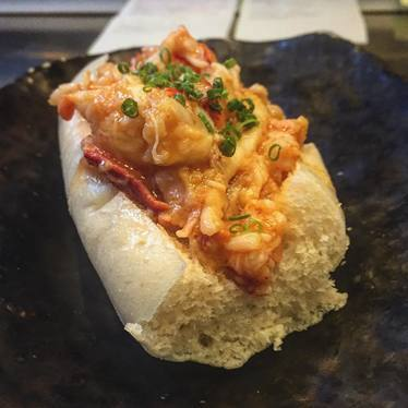 Buttered lobster bun at Eventide Oyster Co.