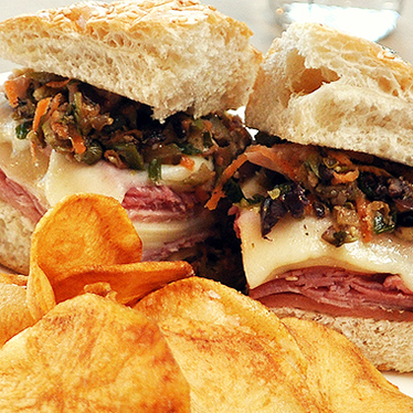 New Orleans Muffaletta at Ellerbe Fine Foods