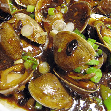 Baby clams in black bean sauce at MingHin Cuisine