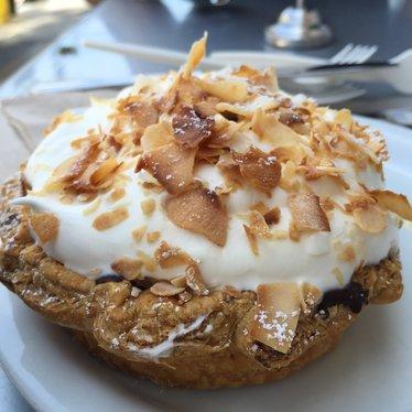 Coconut Cream Tart at Tartine Bakery