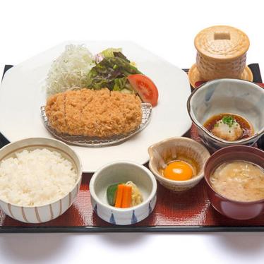 Oroshi tonkatsu at Ootoya