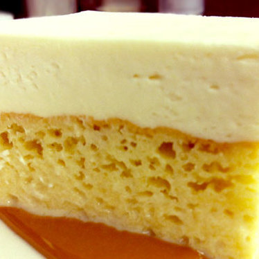 Tres leches cake at Animal