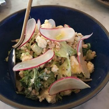 Cracked Farro Salad at Alimento