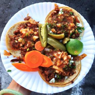 Tacos at Taqueria Sinaloa