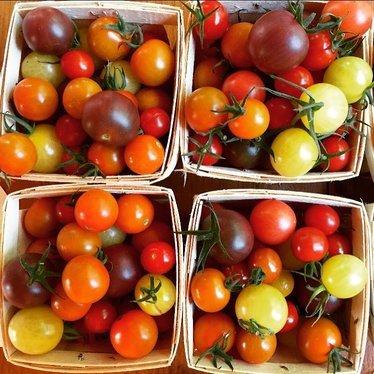 Heirloom cherry tomato jam at Chef Shack Bay City, WI