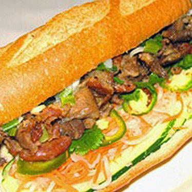 Bánh mì thịt nướng at Hue Thai
