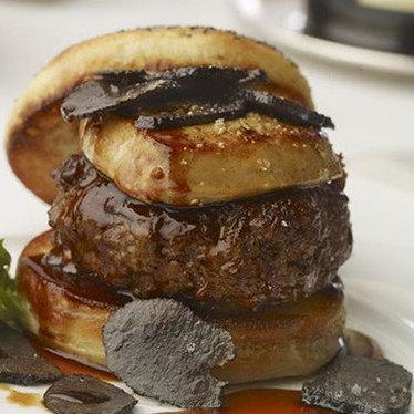Rossini burger at Burger Bar