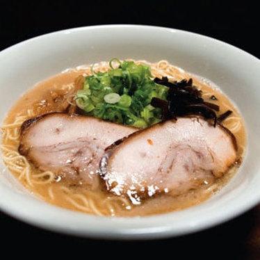 Tonkotsu ramen at Monta Japanese Noodle House