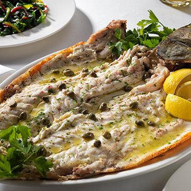 Whole fish at Estiatorio Milos