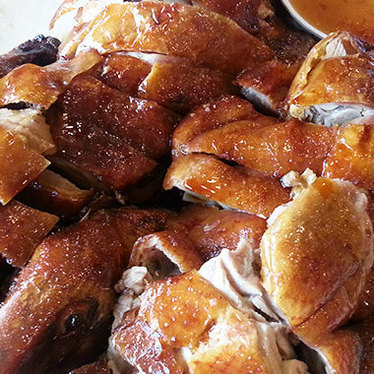 Roast duck at Sam Woo BBQ Restaurant