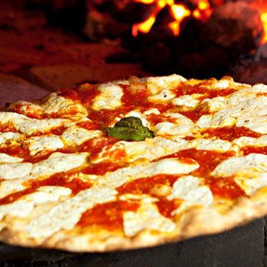 Pizza at Grimaldi's Pizzeria