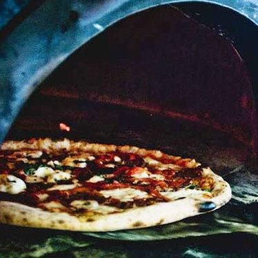 Diavola pizze at Settebello Pizzeria Napoletana