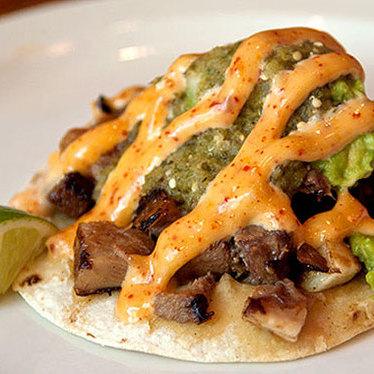 Lengua street tacos at Pinche Tacos