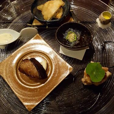 Dinner at N/Naka