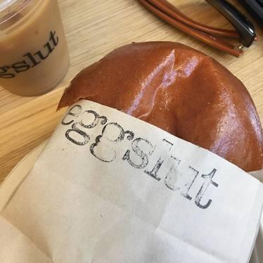 Bacon Egg Cheese sandwich at Eggslut