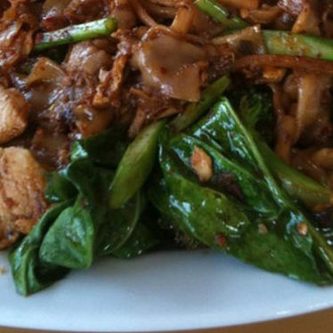 Pad see ew at Pailin Thai Cuisine