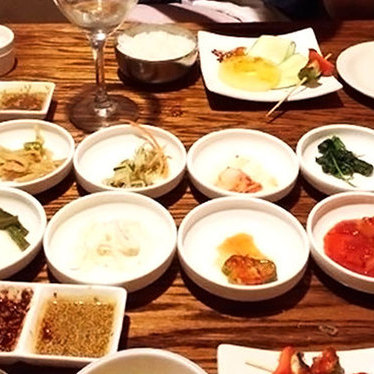 12 course tasting menu at Woo Nam Jeong Stone Bowl