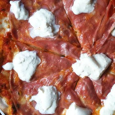 Pizza Pugliese at Macello