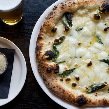 Abruzzo pizza napoletana at Marco's Coal-Fired Pizza
