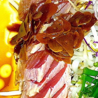 Ethel's famous tataki sashimi at Ethel's Grill