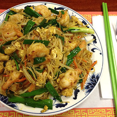 Singapore style rice noodles at Pho 38
