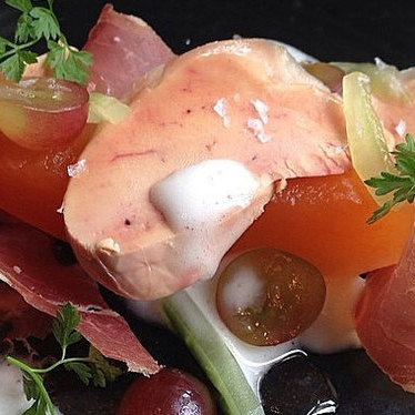 Foie gras torchon at Le Pigeon