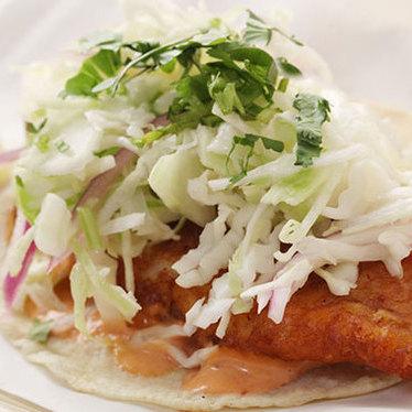 Taco de pescado at Big Star