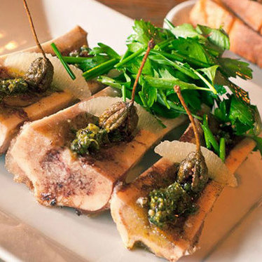 Roasted bone marrow at The Craftsman New American Tavern