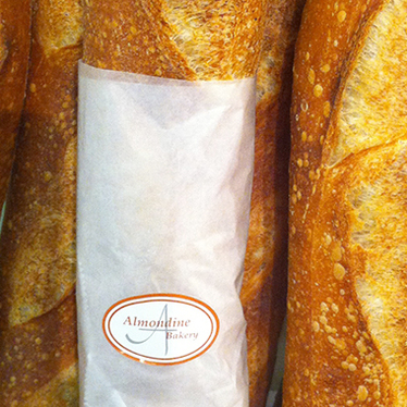 Baguette at Almondine Bakery