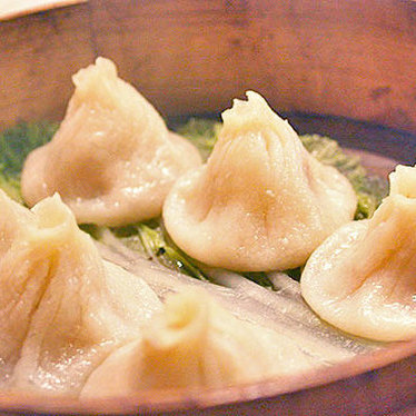 Soup dumplings at Kingdom Of Dumpling