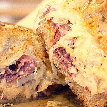 Reuben sandwich at Leoda's Kitchen & Pie Shop