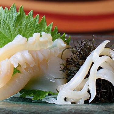 Mirugai sashimi at Japengo Restaurant