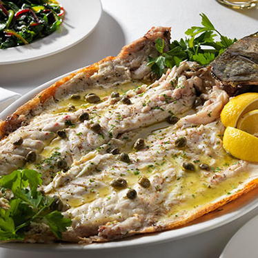 Daily fresh fish at Estiatorio Milos