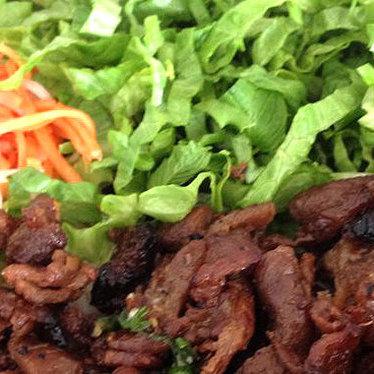 Bún thịt nướng at The Pho Shop