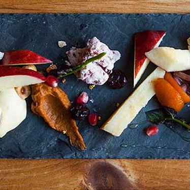 Cheese plate at Talula's Garden