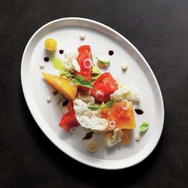 Tomato salad at Sage