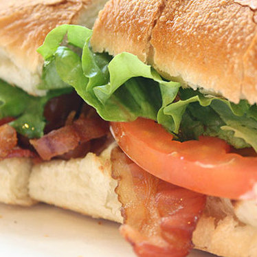 BLT at Football Sandwich Shop